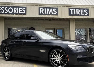 Tinted Windows BMW